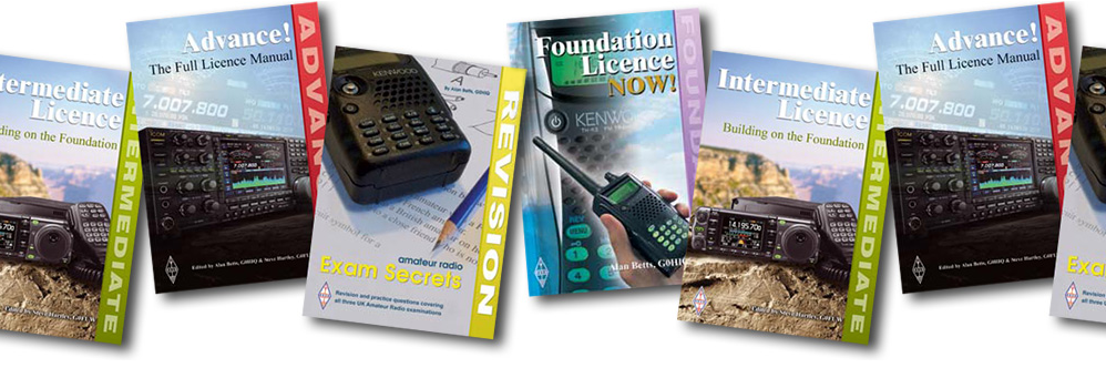 RSGB Licensing Textbooks